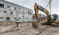 Dzień otwarty na budowie szpitala, fot. Szymon Zdziebło/Tarantoga.pl