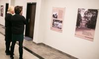 Inauguracja wystawy poświęconej Tadeuszowi Nowakowskiemu z udziałem twórców ekspozycji, fot. Andrzej Goiński