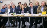 """Konferencja """"Prawo miejscowe w kształtowaniu zrównoważonego rozwoju przestrzeni województwa"""" w Toruniu, fot. Andrzej Goiński/UMWKP"""