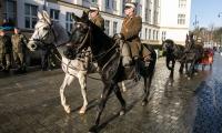 Marszałek Piłsudski z wizytą w Urzędzie Marszałek Toruniu, fot. Andrzej Goiński/UMWKP