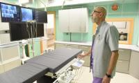 Nowa pracownia elektrofizjologii i elektroterapii z nowym angiokardiografem w Wojewódzkim Szpitalu Specjalistycznym we Włocławku, fot. Łukasz Piecyk dla UMWKP