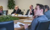 Konferencja na temat budżetu inwestycyjnego na 2018 rok, fot. Szymon Zdziebło/tarantoga.pl