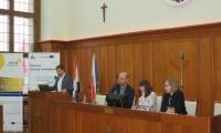 Pan Marcin Napierała prezentuje projekt CitiEnGov