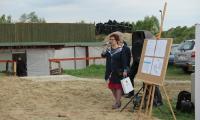 Maria Mazurkiewicz - Kujawsko-Pomorski Wickurator Oświaty; foto. Tadeusz Kierel