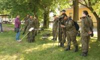 Obsługa wojskowego sprzętu optycznego, fot. Roman Salach