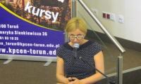 Agnieszka Przybyszewska, wicedyrektor KPCEN w Toruniu