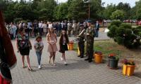 Drużyna konkursowa ze Szkoły Podstawowej im. gen. Stanisława Maczka w Boguchwale