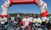 Uczestnicy rajdu rowerowego Kujawsko-Pomorskie - Ku Niepodległej