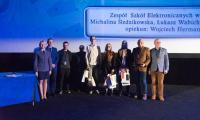Laureaci konkursu  z  Zespołu Szkół  Elektronicznych w Bydgoszczy, fot. KPCEN Bydgoszcz
