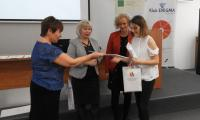 Nagradzanie laureatów, fot. PBW im. M. Rejewskiego w Bydgoszczy