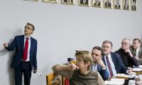 Posiedzenie Zespołu ds. polityki gospodarczej, rynku pracy i strategii rozwoju województwa przy Kujawsko-Pomorskiej Wojewódzkiej Radzie Dialogu Społecznego 26.11.2018 r., fot. Jacek Nowacki