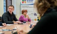 Spotkanie z przedstawicielami organizacji pozarządowych z powiatu chełmińskiego, fot. Łukasz Piecyk
