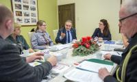 Spotkanie marszałka Piotra Całbeckiego i przewodniczącego Ryszarda Bobera z przedstawicielami ZHP i ZHR, fot. Szymon Zdziebło/tarantoga.pl dla UMWKP