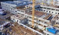Nowy budynek główny lecznicy, fot. Sky Drone Studio dla KPIM