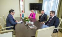 Spotkanie z ambasadorem Kazachstanu Margułanem Baimuchanem, fot. Szymon Zdziebło/Tarantoga.pl