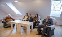 Uroczyste otwarcie Dziennego Domu Pobytu w Bierzgłowie w gminie Łubianka, fot. Łukasz Piecyk