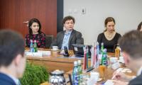 Spotkanie marszałka Piotra Całbeckiego z delegacją białoruską, fot. Szymon Zdziebło/tarantoga.pl dla UMWKP