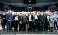 Spotkanie ze stypendystami marszałka w Hali Arena Toruń, fot. Andrzej Goiński