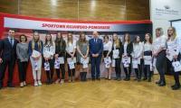 Uroczystość wręczenia stypendiów sportowych w Muzeum Etnograficznym w Toruniu, fot. Szymon Zdziebło/Tarantoga.pl