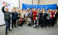 Warsztaty wielkanocne dla seniorów, fot. Andrzej Goiński