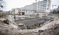 29.03.2017 Wykopy pod budynek administracyjno-szpitalny, fot. Andrzej Goiński