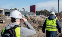 11.03.2018 Budynek techniczny – stan obecny, fot. Łukasz Piecyk