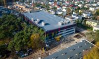 05.11.2017 Parking wielopoziomowy – stan obecny, fot. Sky Drone Studio