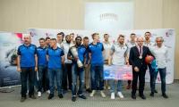 Spotkanie z koszykarkami i koszykarzami w Urzędzie Marszałkowskim, fot. Łukasz Piecyk