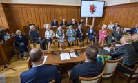 Uroczysta część sesji, fot. Szymon Zdziebło/tarantoga.pl dla UMWKP