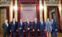 Podczas wizyty w siedzibie administracji regionu Nawarra, fot. fot. Gobierno de Navarra