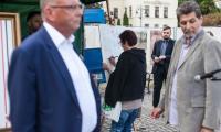Akacja zbierania podpisów pod deklaracją dla Niepodległej, Bydgoszcz 18 maja, fot. Filip Kowalkowski dla UMWKP