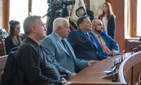 Spotkanie z członkami Stowarzyszenia Polskich Artylerzystów w Urzędzie Marszałkowskim, fot. Szymon Zdziebło/Tarantoga.pl