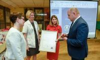 Piąte urodziny Banku Mleka w Toruniu, fot.  Łukasz Piecyk dla UMWKP