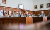 Sejmik dzieci i młodzieży w Urzędzie Marszałkowskim z udziałem harcerzy, fot. Andrzej Goiński