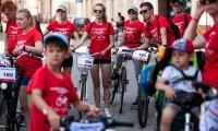 Rajd rowerowy w Żninie, fot. Filip Kowalkowski