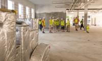 Dzień otwarty na budowie szpitala na Bielanach, 10 czerwca 2018, fot. Szymon Zdziebło/Tarantoga.pl