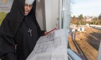 Centrum Pomocy im. św. Brata Alberta podczas budowy, fot. Filip Kowalkowski