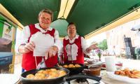 Piknik na Zamku Krzyżackim w Świeciu fot. Filip Kowalkowski
