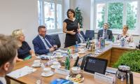 Spotkanie z gośćmi z Nadrenii-Palatynatu w Urzędzie Marszałkowskim, fot. Szymon Zdziebło/Tarantoga.pl