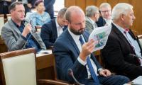 """Konferencja """"Wisła – jej rola i znaczenie dla województwa kujawsko-pomorskiego"""" w Urzędzie Marszałkowskim, fot. Łukasz Piecyk"""
