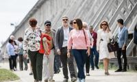 Kujawsko-Pomorskie odwiedziło 70 dyplomatów z całego świata, fot. Andrzej Goiński/UMWKP