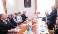 Wizyta premiera Saksonii-Anhalt, fot. Andrzej Goiński/UMWKP
