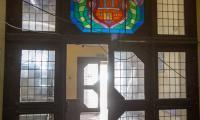Wizyta marszałka Piotra Całbeckiego w przebudowywanym pałacu Dąmbskich, fot. Szymon Zdziebło/tarantoga.pl