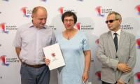 Uroczystość wręczenia umów o dofinansowanie projektów w ramach RPO i PROW, fot. Szymon Zdziebło/Tarantoga.pl