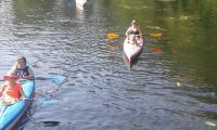 Tegoroczny spływ kajakowy, fot. Jan Szpil, KTW