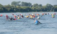 Uczestnicy 58. Międzynarodowego Spływu Kajakowego w Toruniu, fot. Łukasz Piecyk