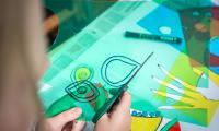 Wakacyjne warsztaty plastyczne w Galerii i Ośrodku Plastycznej Twórczości Dziecka, fot. Szymon Zdziebło/tarantoga.pl