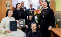 Wizyta u siostry Natalii Bartosiak, fot. Łukasz Piecyk