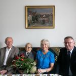 Wizyta wicemarszałka Zbigniewa Ostrowskiego u Tadeusza Dołkowskiego, fot. Filip Kowalkowski