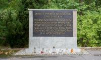Zbiórka ziemi pod budowę Pomnika Pamięci Ofiar Mordu Pomorskiego 1939 r., fot. Łukasz Piecyk